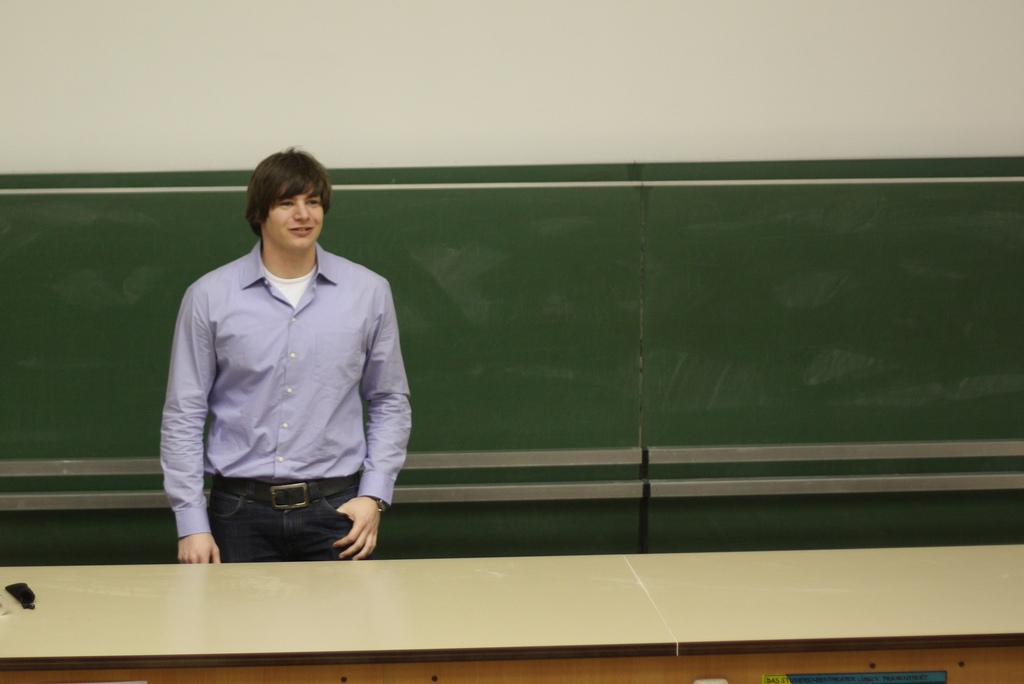 Student lectures: Eine der veranstaltungen der Fachschaften CS|MLS