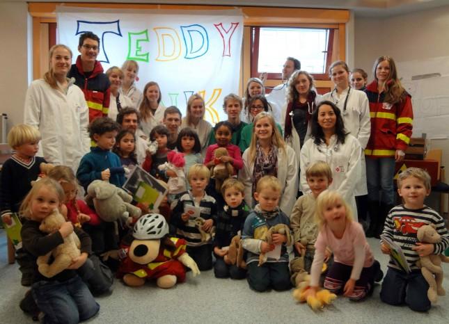 Beim ersten Lübecker Teddykliniktag werden mehr Kinder als nur eine Kindergartengruppe erwartet.