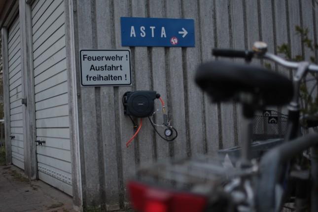 Beim AStA gibt's jetzt Druckluft.