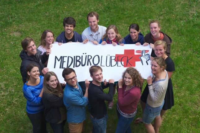Das Team vom Lübecker Medibüro