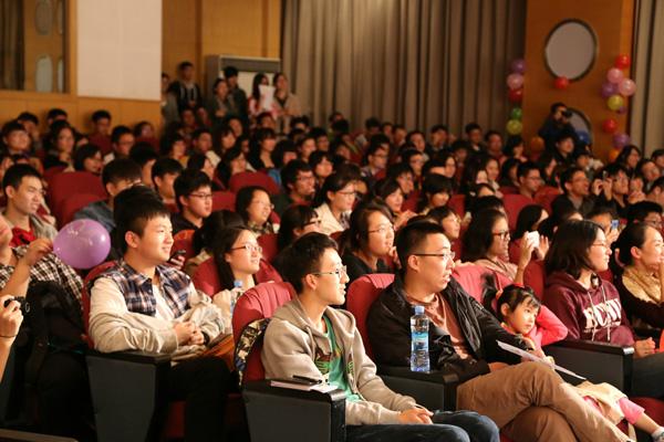 Ein ruhiger Start ins Studentenleben ist in China üblich.