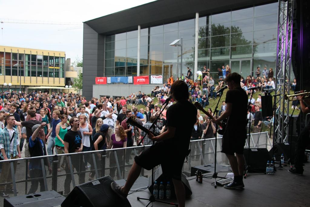 Bereits 2013 war das Campus Open Air in Lübeck ein großer Erfolg.