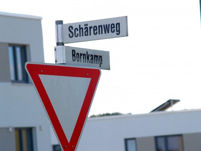 Eine geplante Erstaufnahmeeinrichtung sorgt im Bornkamp für Streit.