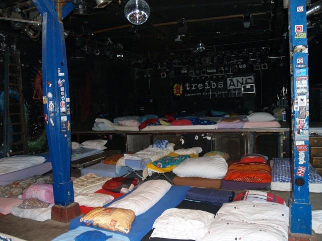 Ruheplätze anstatt Punkkonzerten im Treibsand.