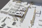 Zukünftiger BMF-Bau (mittig, bunt), nur eines von vielen geplanten Gebäuden.