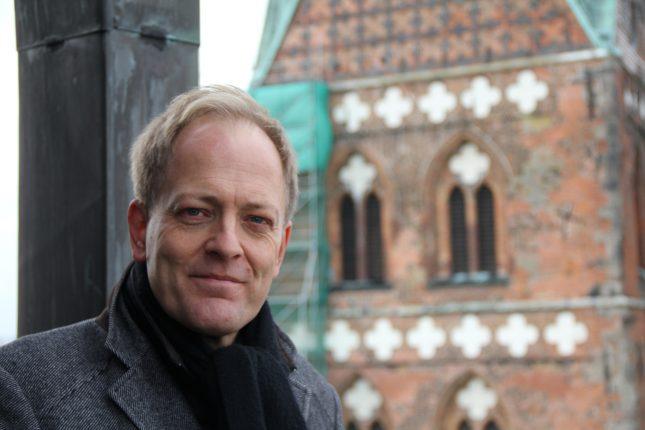 Robert Pfeifer ist seit 2011 einer der beiden Pastoren der Marienkirche. Mit vielen spannenden Geschichten führt er uns durch die Gewölbe der großen Kirche