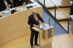Ministerpräsident Torsten Albig bei einer Rede im Landtag.
