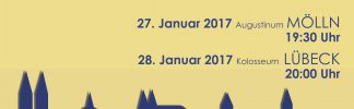 Plakat zu den Konzerten am 27./28. Januar 2017