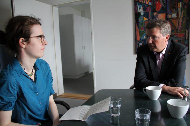 Das StudentenPACK hat Lars Harms für das Interview in Kiel besucht.