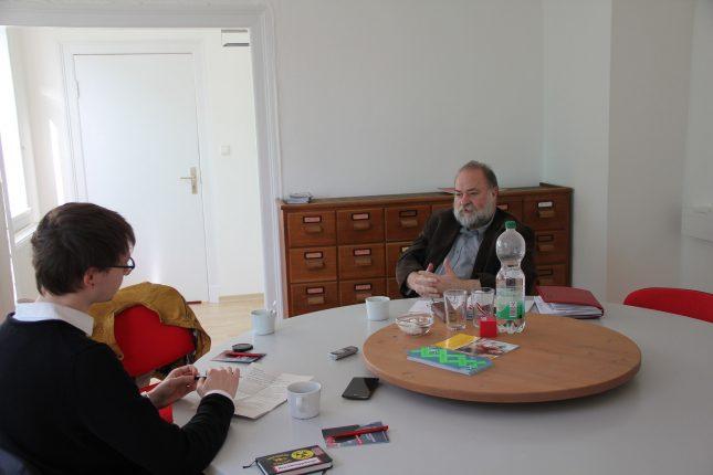 Das StudentenPACK hat Wolfgang Baasch im Dr.-Julius-Leber-Haus in Lübeck getroffen.