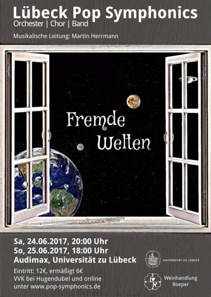 Plakat zu den Konzerten am 24./25. Juni 2017.
