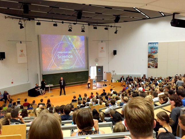 Der von RYL! organisierte Science Slam 2016 war ein voller Erfolg.