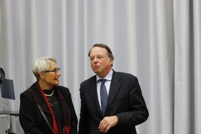 Gabriele Gillessen-Kaesbach und ihr Vorgänger Hendrik Lehnert