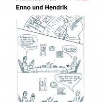 Das turbulente Frühstück von Enno und Hendrik 2