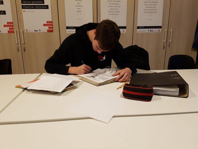 Schüler: Zu Lernen bleibt beim Abitur nicht aus.