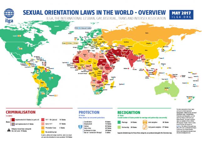 In den Vereinigten Arabischen Emiraten ist Homosexulität strafbar.