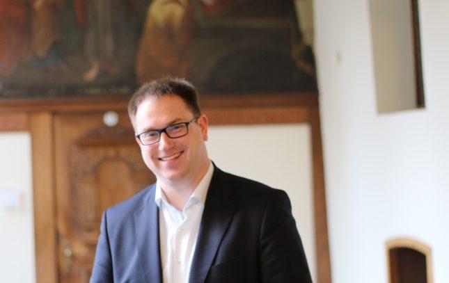 Jan Lindenau wurde zum neuen Lübecker Bürgermeister gewählt
