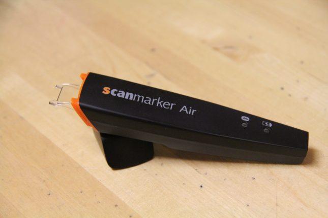 Der ScanMarker Air scannt und übersetzt angeblich sogar Zulu!