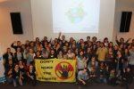 Die Teilnehmer beim IPPNW-Studitreffen in Lübeck.