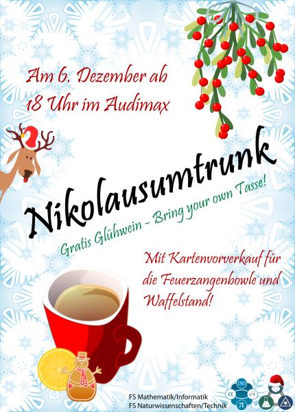 EInladung zum Nikolausumtrunk.