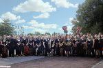 Die Lübeck Pop Symphonics vor dem Carlebach Park.