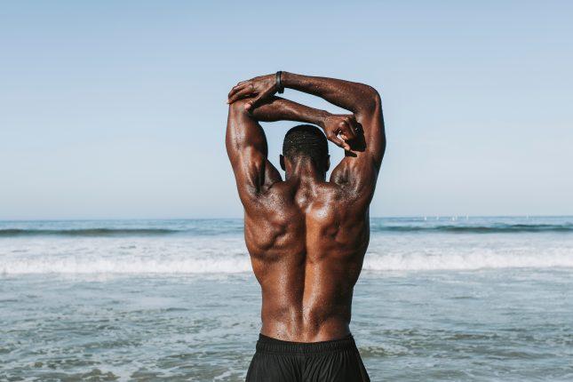 Bei der FIBO waren Muskeln ein zentrales Thema.